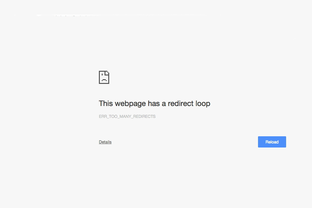 How to Solve This Webpage has a Redirect Loop Problem
